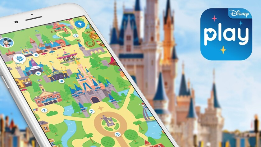 Disney Parks Experiences and Consumer Products mobile app