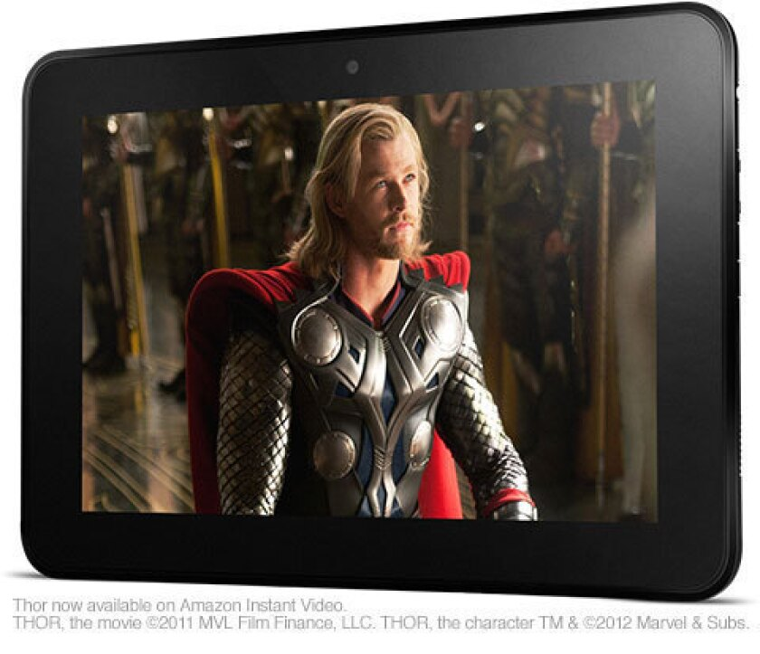 The Amazon.com 8.9-inch Kindle Fire HD tablet.