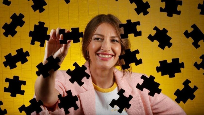 "Actress Kelly Macdonald stars in ""Puzzle"" as Agnes, a woman with a talent for assembling jigsaw puzzles who sneaks away from her suburban town and goes to New York City, where she partners with a man for a puzzle tournament."
