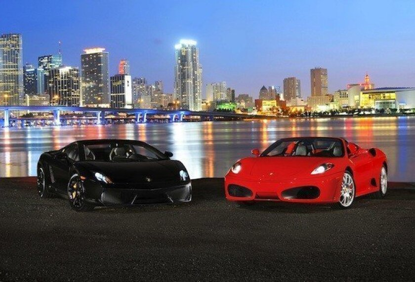 Hertz Will Rent Lamborghinis And Ferraris For 1 500 A Day Los Angeles Times