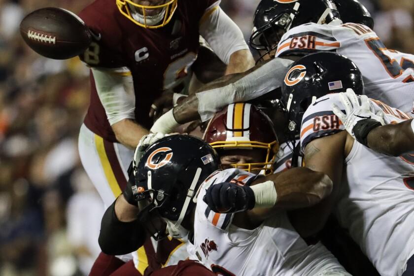 Bears Redskins Football