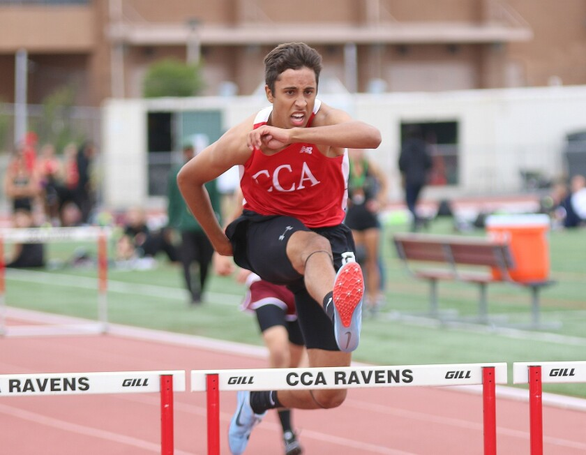 CCA senior hurdler Kamon Stewart targeting new team