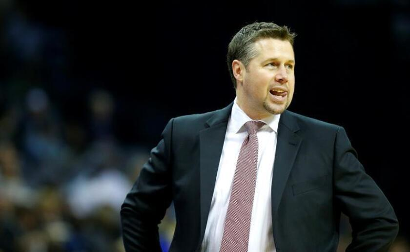 El entrenador Dave Joerger. EFE/Archivo