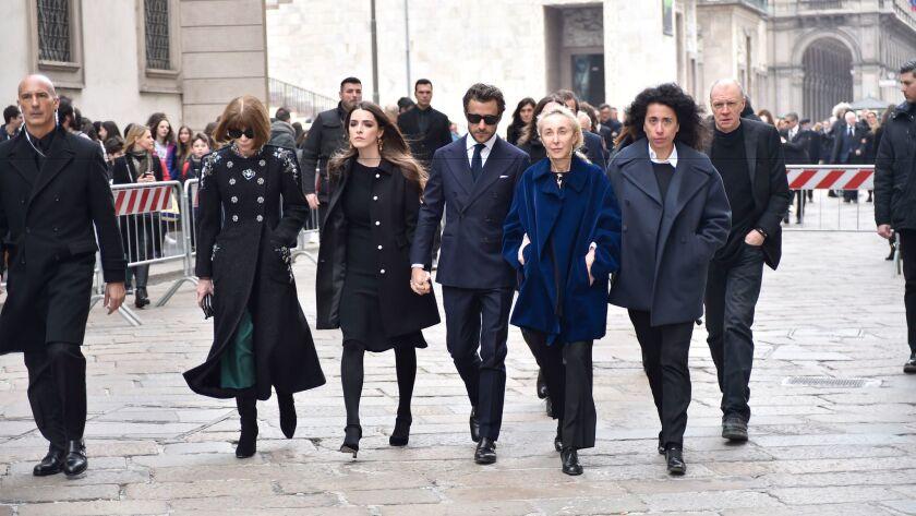 Anna Wintour, Bee Shaffer, Francesco Carrozzini, Carla Sozzani, Sara Maino, Kris Ruhs.