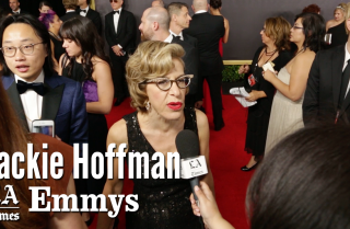 Emmys 2017: Jackie Hoffman on the red carpet