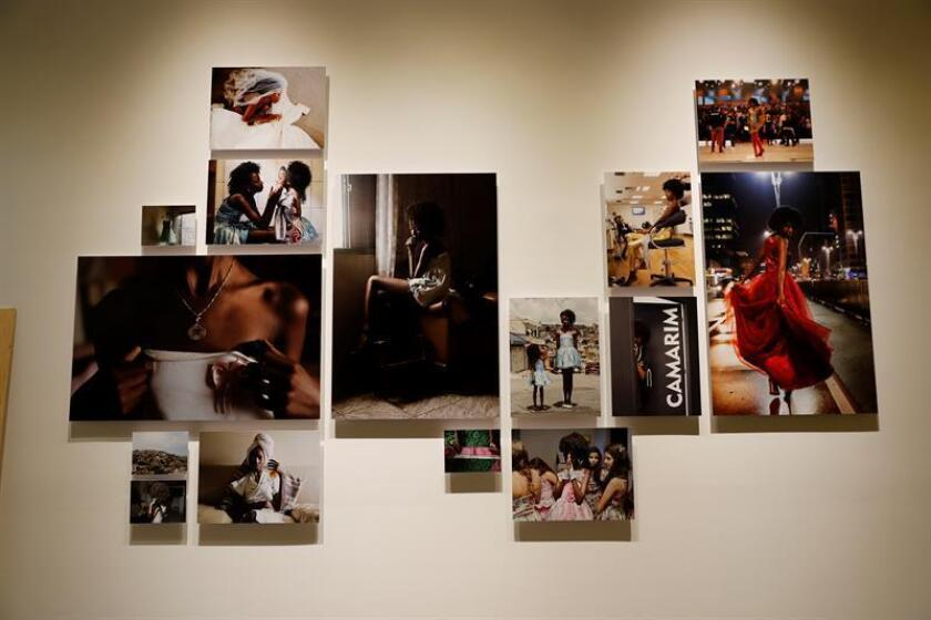 Vista de la obra de la fotógrafa brasileña Luisa Dorr hoy, jueves 16 de agosto de 2018, en el Centro de la Imagen, en Ciudad de México (México). EFE