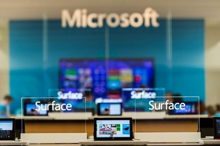 Los Angeles man sues Microsoft over Surface storage claims