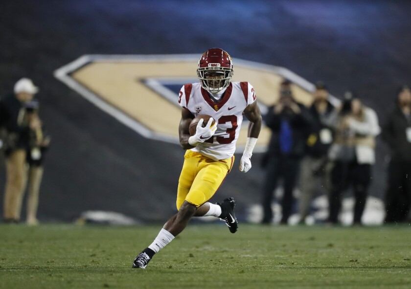 Injuries have thrust freshman running back Kenan Christon, who starred at Madison High, into the USC lineup.