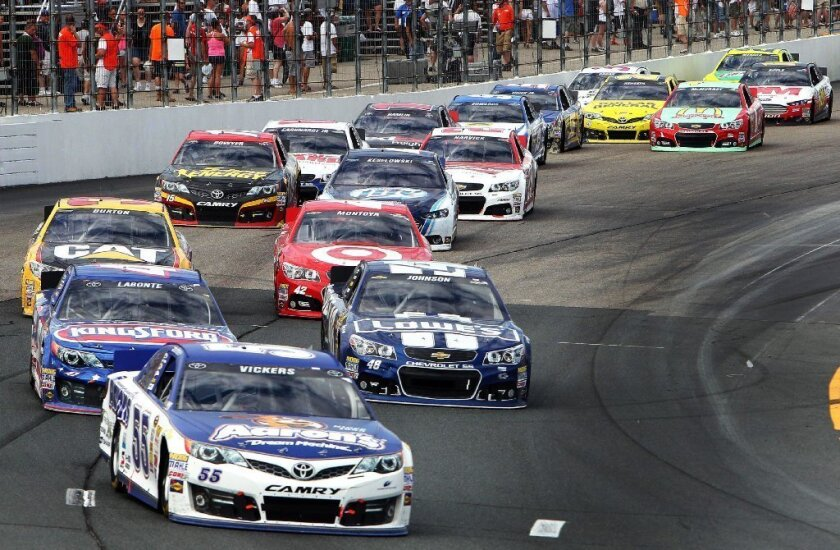 You won't see a lot of NASCAR on ESPN beginning in 2015.