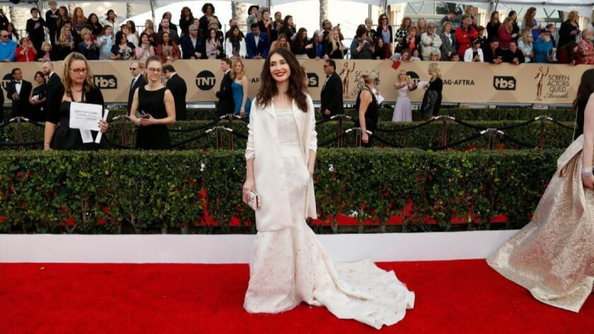 Carice van Houten during arrivals at the SAG Awards in L.A. in 2016.