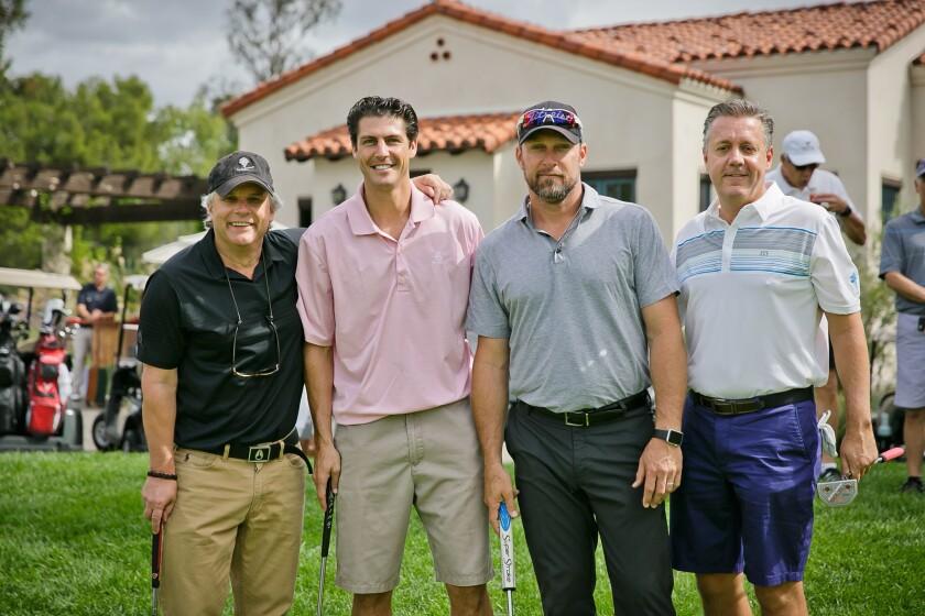 James Tone, Brey Jones, Mark Kotsay and Todd Neal at least year's tournament.