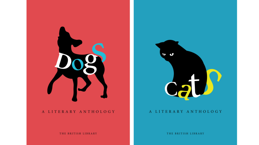 """""""Dogs: A Literary Anthology"""" and """"Cats: A Literary Anthology"""""""