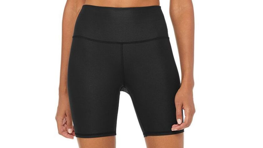 Biker shorts The hot workout trend from the 90s is back. This figure-flattering Alo pair is decidedl