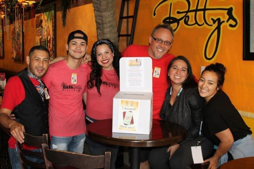 Dining Out For Life San Diego will be on April 27. (Courtesy photo)