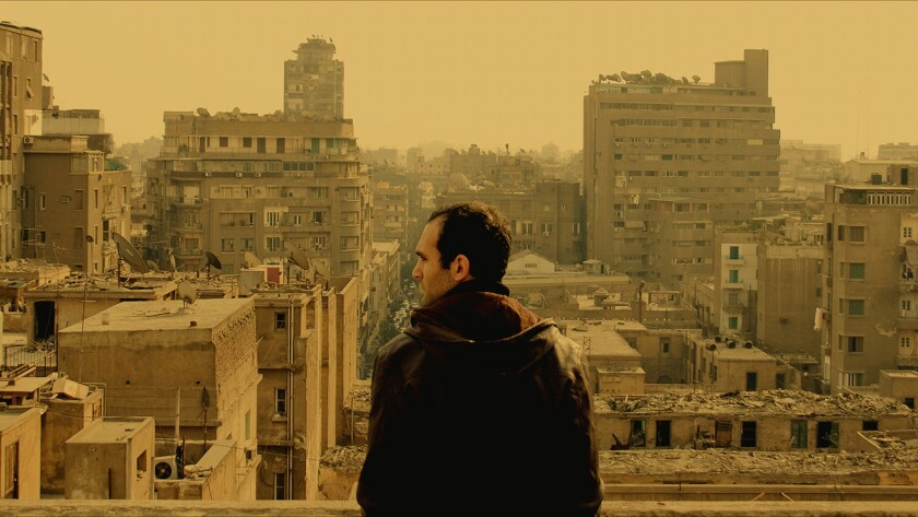 "Khalid Abdalla in the movie ""In the Last Days of the City."""