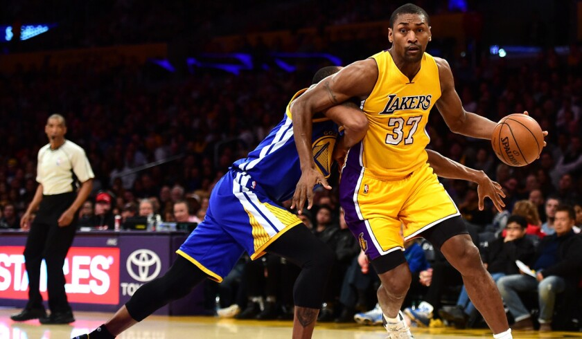 Lakers officially guarantee contracts of World Peace, Huertas and Black