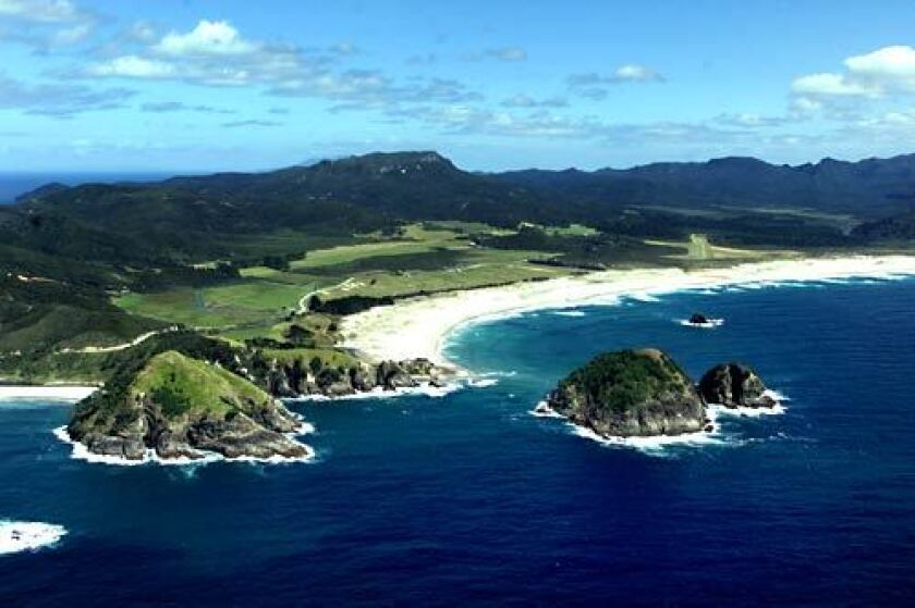 For novice solo travelers who'd prefer to visit an English-speaking country but are still looking for a far-flung adventure, consider New Zealand and its trove of wide-open spaces -- including Kaitoke Beach on Great Barrier Island.