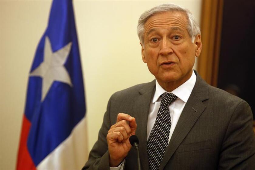 Heraldo Muñoz, ministro de Relaciones Exteriores de Chile. EFE/Archivo