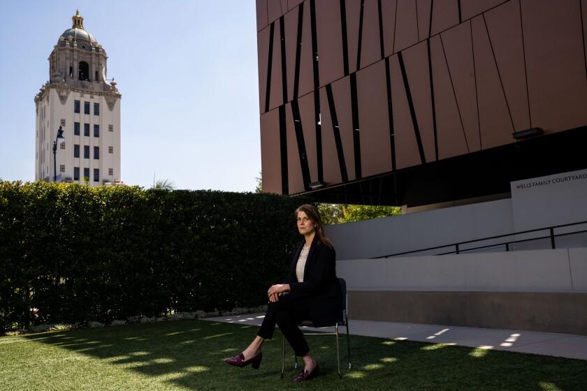Rachel Fine del Wallis Annenberg Center for the Performing Arts en Beverly Hills .