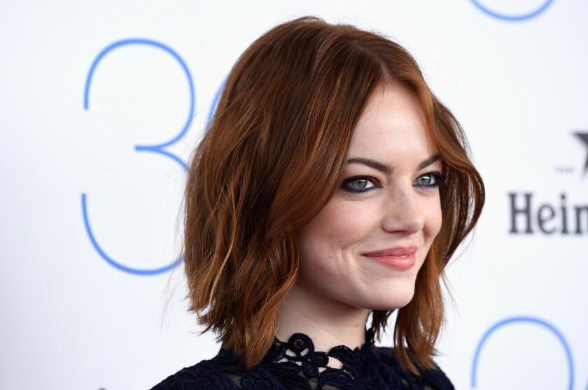 "Emma Stone will portray Billie Jean King in Fox Searchlight's ""Battle of the Sexes."""