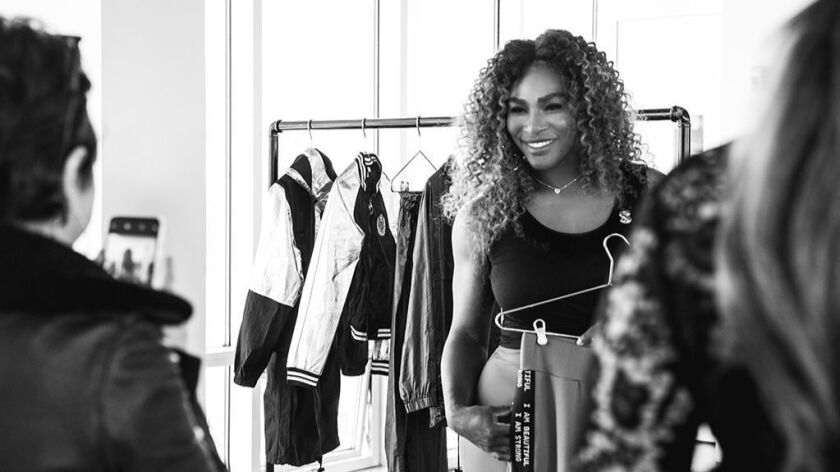 Serena Williams Debuts 'Serena' Clothing Line