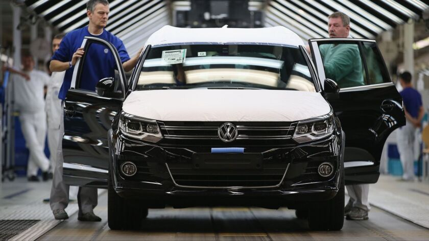 FILE - Volkswagen Expected To Offer Cash to Owners Of VW And Audi Cars In The United States.