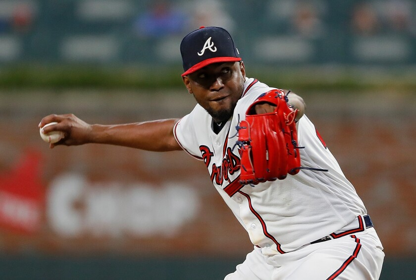 Former Atlanta Braves pitcher Julio Teheran has agreed to a one-year deal with the Angels.