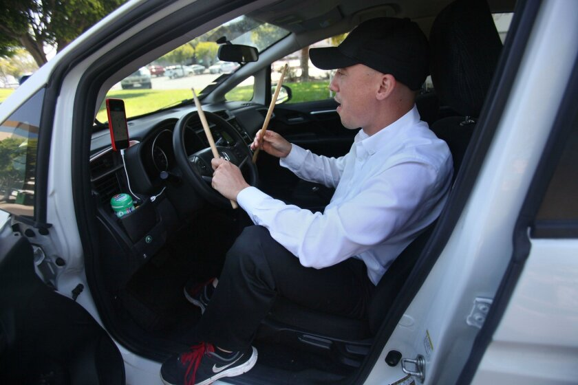 Bill Tesauro has a set of drum sticks he plays against his steering wheel while either waiting in thick traffic or between Uber calls. A recent driver settlement is forcing Uber to clarify that tips are not included in fares. This will allow drivers like Tesauro to solicit and accept tips without f