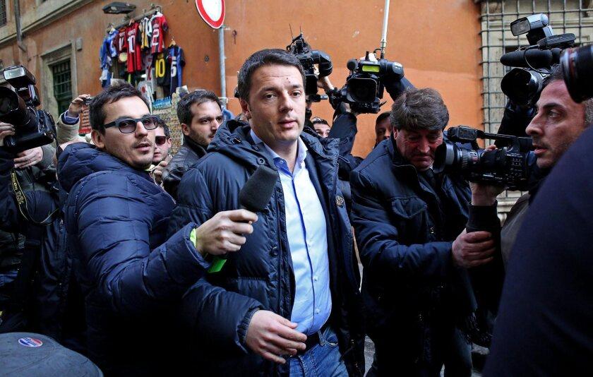 Italy's Matteo Renzi