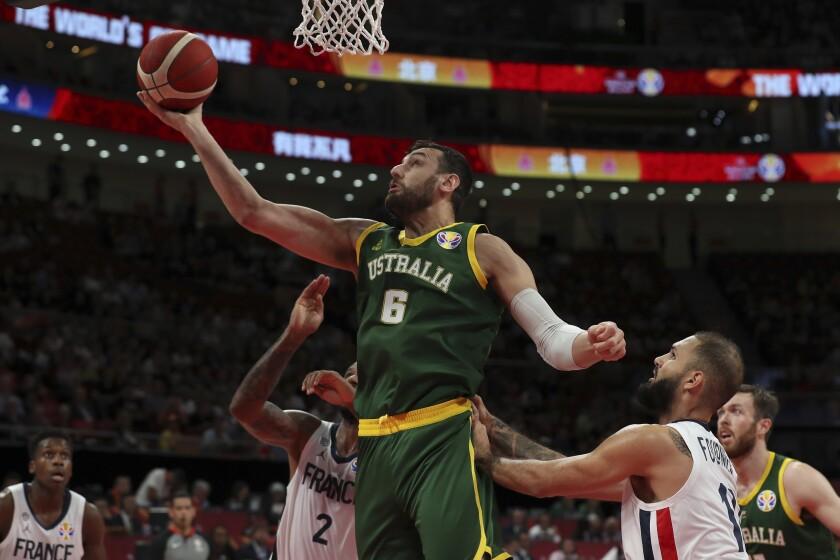 Australia Bogut Backlash Basketball