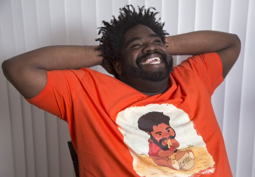 Comedian Ron Funches. (Lawrence K. Ho/Los Angeles Times)