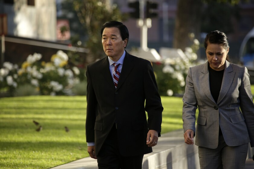 Paul Tanaka, former L.A. County undersheriff, took the stand Friday in his obstruction of justice and conspiracy case. So far, nine members of the Sheriff's Department have been convicted or have pleaded guilty.