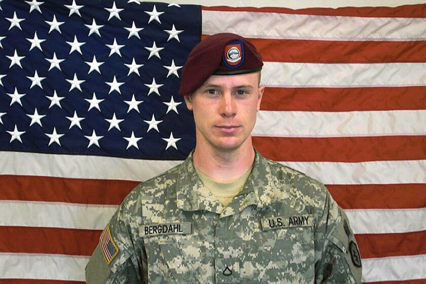 Bowe Bergdahl before his capture by the Taliban in Afghanistan in 2009.