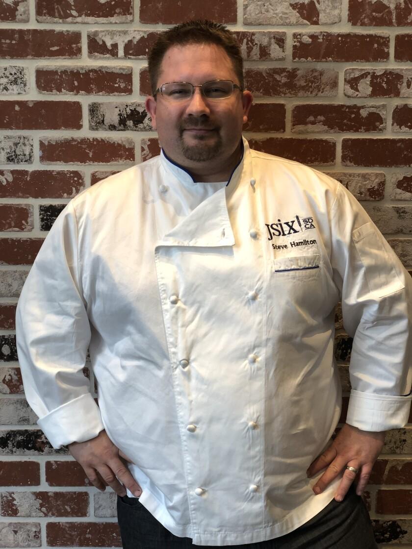 Chef Steve Hamilton.