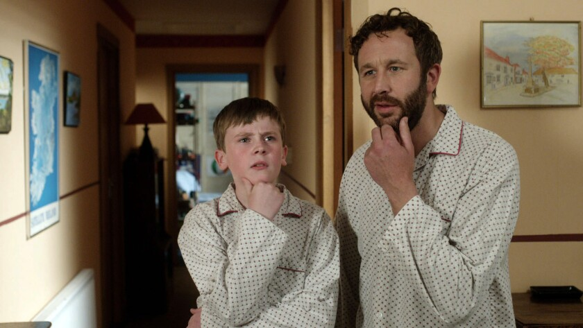 "David Rawle, left, plays Martin Moone and Chris O'Dowd plays his imaginary friend, Sean Murphy, in ""Moone Boy,"" whose third season is now available on Hulu."
