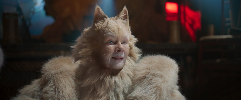 "Judi Dench in ""Cats."""