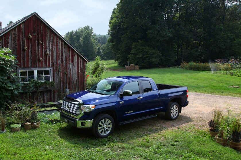 Toyota has issued a recall for 130,000 of its 2014 Toyota Tundra CrewMax and Double Cab pickups, over concerns about a side impact airbag problem.