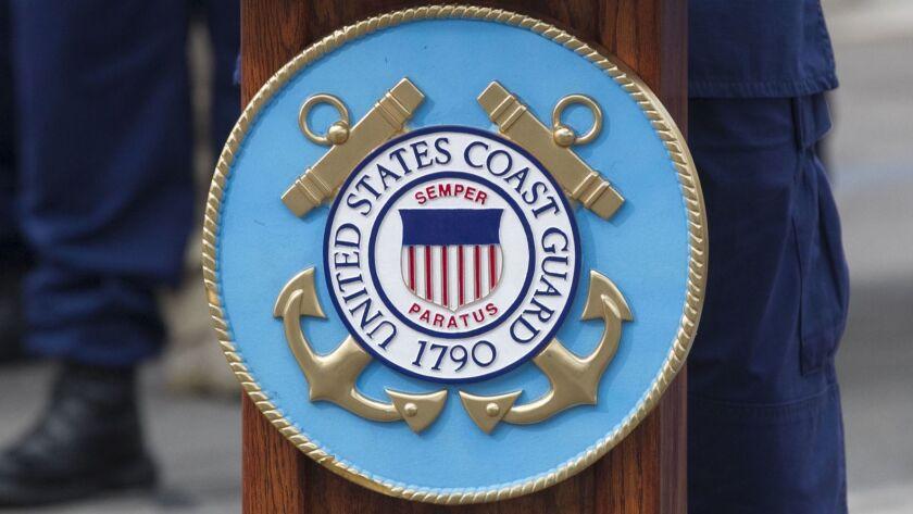 U.S.Coast Guard insignia.