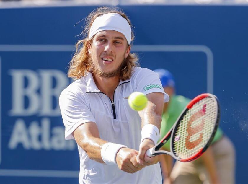 En la imagen, el tenista eslovaco Lukas Lacko. EFE/Archivo