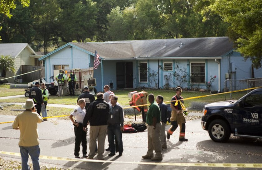 Florida sinkhole that swallowed man continues to deepen