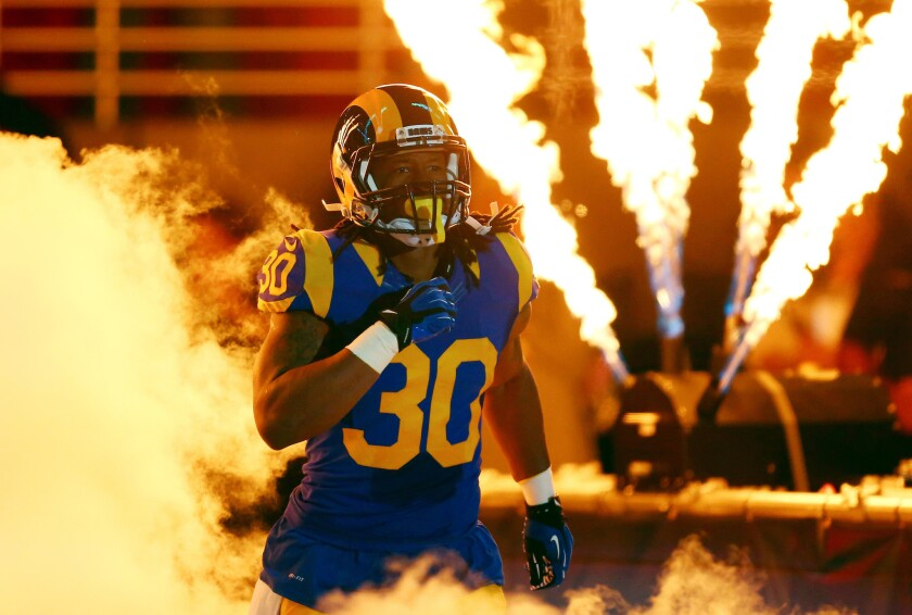 Rams running backs: Todd Gurley is a young star, Tre Mason's status is muddled