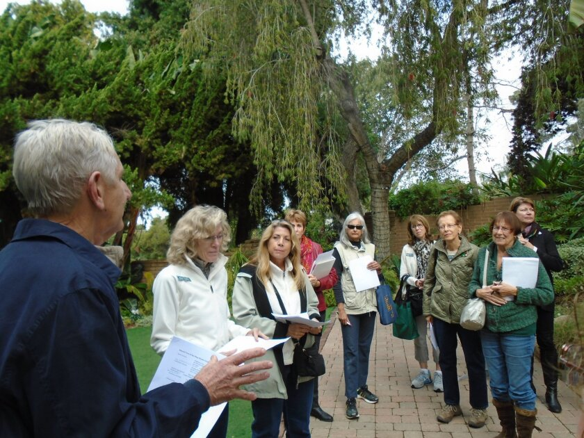 Docent training at the San Diego Botanic Garden covers topics as diverse as the garden itself.