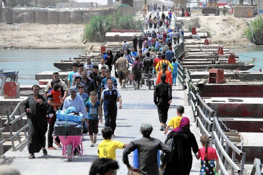 Displaced Iraqis