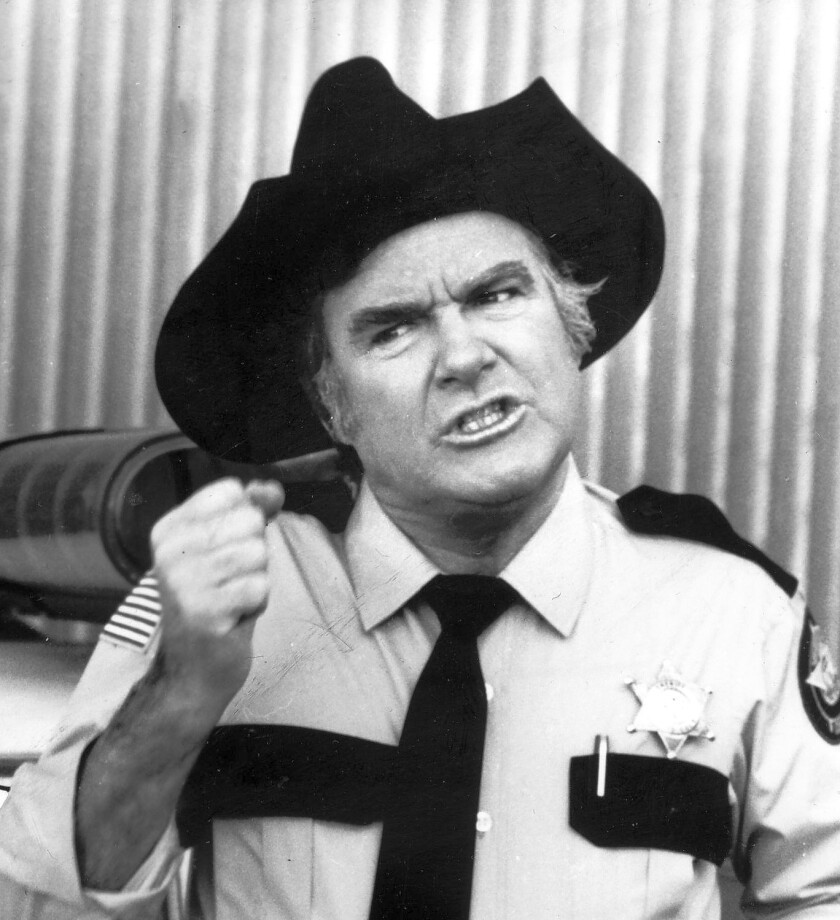 """James Best was a prolific TV and movie actor best known for his role as Sheriff Rosco P. Coltrane on """"The Dukes of Hazzard."""""""