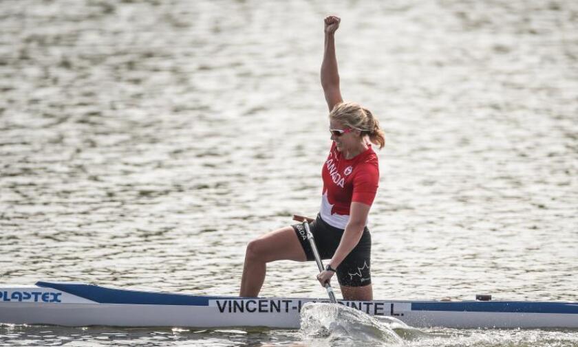 La once veces campeona del mundo Vincent-Lapointe suspendida por dopaje