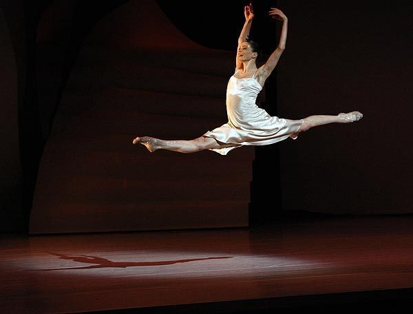 """Anja Behrend plays Cinderella in the contemporary staging of """"Cinderella"""" by Les Ballets de Monte-Carlo at the Segerstrom Center for the Arts in Costa Mesa."""
