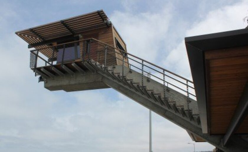 Roesling Nakamura Terada Architects designed the new $3.8 million lifeguard tower in La Jolla Shores. Pat Sherman