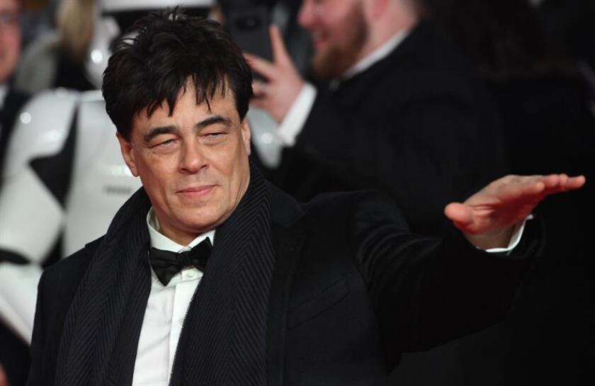 Fallece el padre de Benicio del Toro, quien asegura que fue inesperado