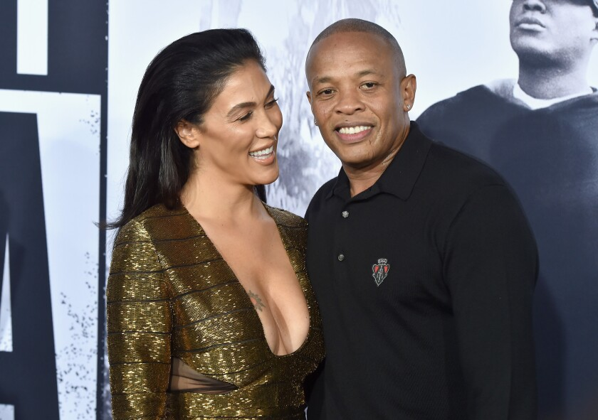 Nicole Young and record producer Dr. Dre are getting divorced.