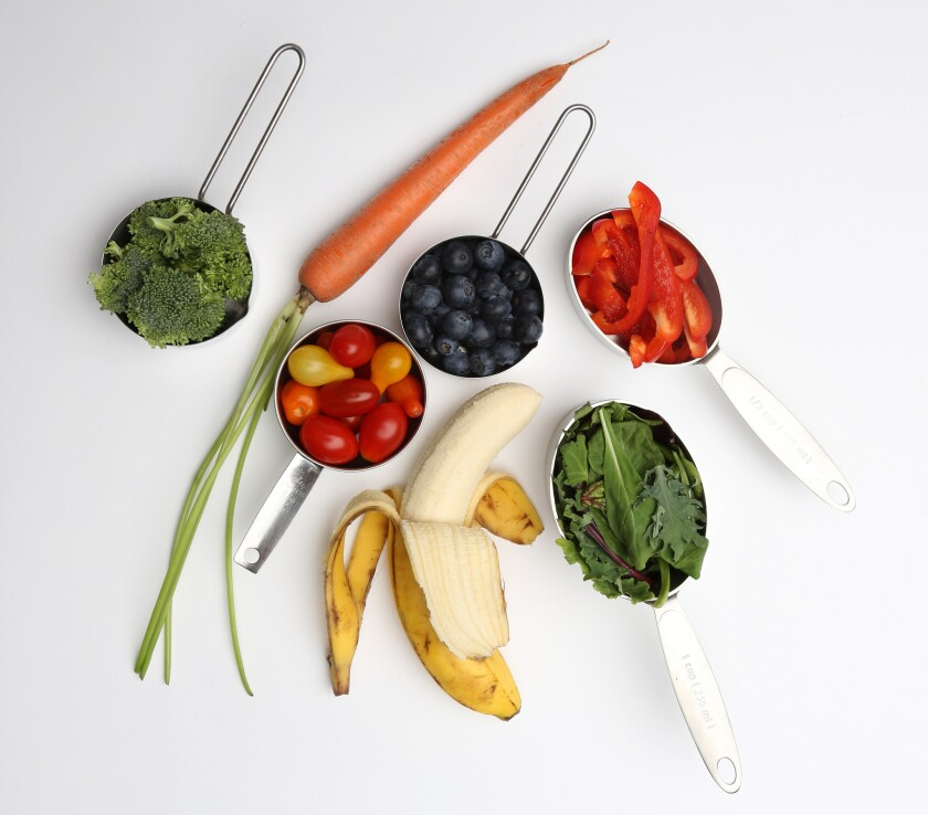 New study sees benefit from at least seven servings of fruits and vegetables a day
